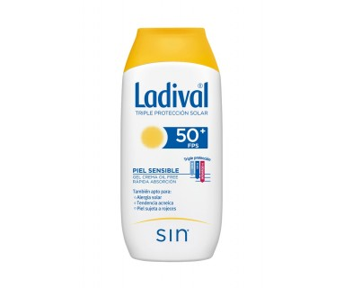 LADIVAL ALLERG GEL-CREMA FPS 50+