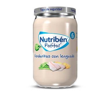 NUTRIBEN POTITO INICIO POLLO CON VERDURAS 130 GRAMOS