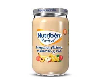 NUTRIBEN POTITO INICIO FRUTAS VARIADAS 130 GRAMOS