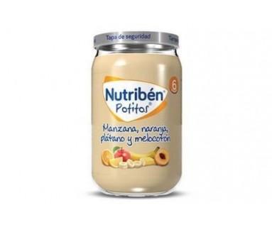NUTRIBEN POTITO INICIO MANZANA GOLDEN 130 GRAMOS