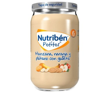 NUTRIBEN POTITO INICIO MULTIFRUTAS 130 GRAMOS