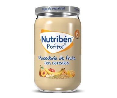 NUTRIBEN INICIO MACEDONIA DE FRUTAS 130 GRAMOS