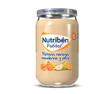 NUTRIBEN POTITO INICIO VERDURAS 130 GRAMOS