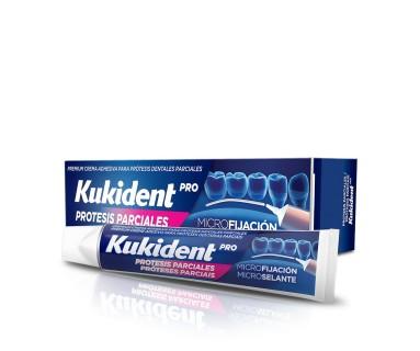 Kukident Pro Crema Adhesiva Para Protesis Parciales 40 gr