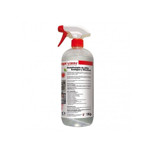 OX-VIRIN Desinfectante de alto nivel frente a Virus con envoltura (CORONAVIRUS)