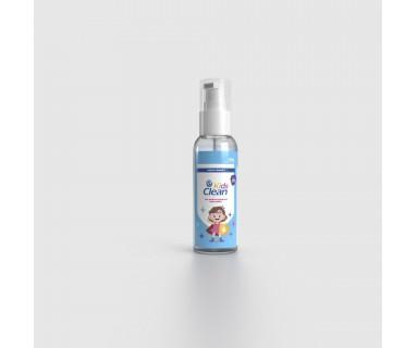 Kids Clean Gel Hidroalcohólico Para Niños 73% Olor Mora 60 ml