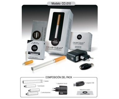 CIGAR-CLEAN CC210 CIGARRO ELECTRONICO