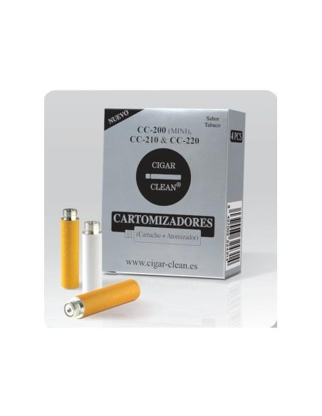 CARTUCHOS CIGAR-CLEAN CC200/210/220 4 UNIDADES SABOR TABACO