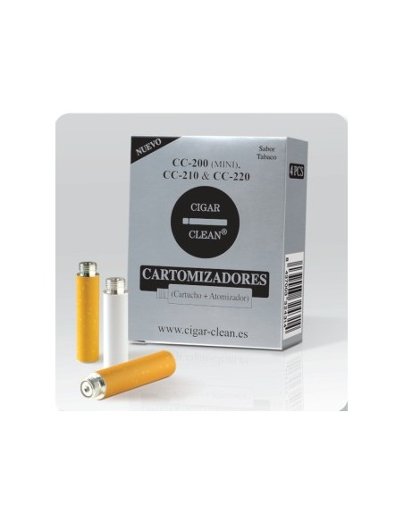 CARTUCHOS CIGAR-CLEAN CC200/210 4 UNIDADES SABOR TABACO