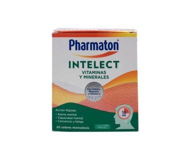Pharmaton Intelect Vitaminas Y Minerales 20 Sobres Monodosis