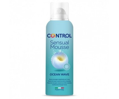 Control Sensual Mousse Ocean Wave Masaje 125 ml