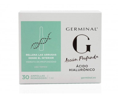 GERMINAL ACIDO HIALURONICO 30 AMPOLLAS 1 ML