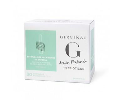Germinal Acción Profunda Prebióticos 30 Ampollas Monodosis 1 ml.