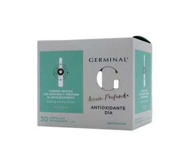 Germinal Acción Profunda Antioxidante Día 30 Ampollas Monodosis 1 ml.