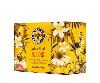 Black Bee Pharmacy Jalea Real Kids 20 ampollas