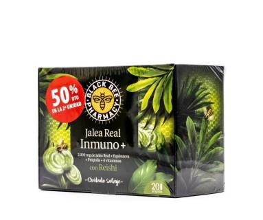 Black Bee Pharmacy Duplo Jalea Real Inmuno+ 2x20 ampollas