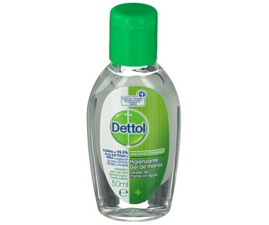 Dettol Gel Higienizante de Manos 50 ml.