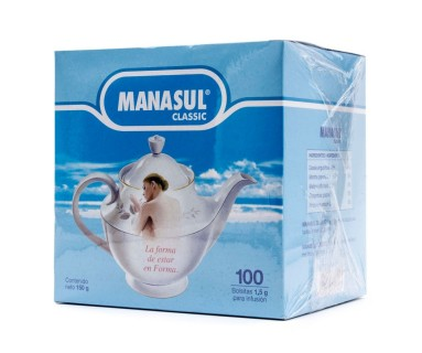 Manasul Classic 100 Bolsitas de 1.5 gr.