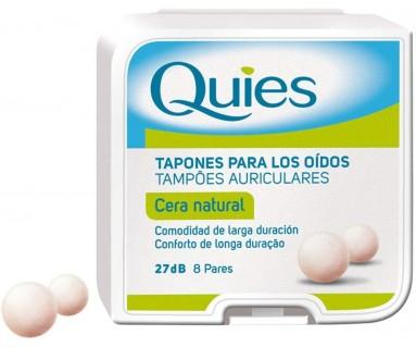 TAPONES DE CERA QUIES 14UNIDADES