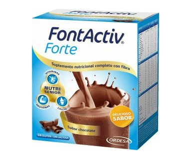 FONTACTIV FORTE SABOR CHOCOLATE 14 SOBRES 30 GR