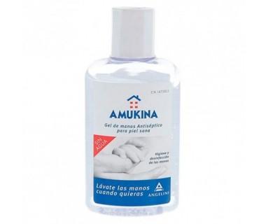Amukina Gel De Manos Antiséptico para piel sana 80 ml