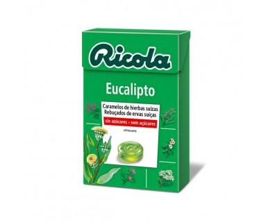 RICOLA CARAMELOS EUCALIPTO SIN AZUCAR