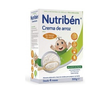 NUTRIBEN CREMA DE ARROZ 300 GRAMOS