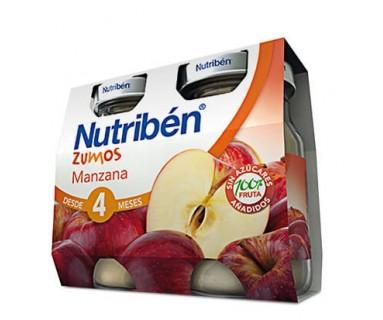 NUTRIBEN ZUMO DE MANZANA 2 * 130 ML