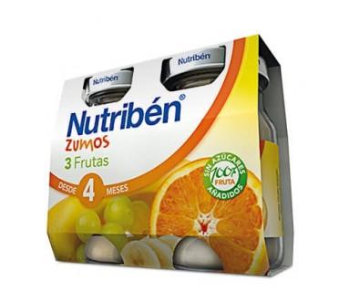 NUTRIBEN ZUMO DE 3 FRUTAS