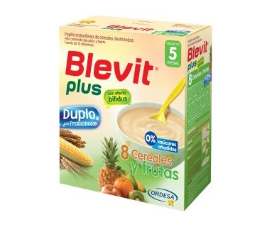 BLEVIT DUPLO 8 CEREALES Y FRUTAS 700 GRAMOS