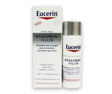 HYALURON FILLER CREMA DIA 50 ML PIEL NORMAL MIXTA EUCERIN