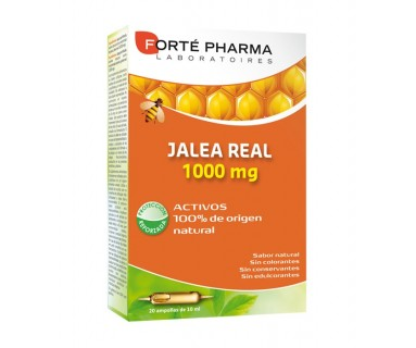 JALEA REAL 1000 MG 20 AMPOLLAS FORTE PHARMA