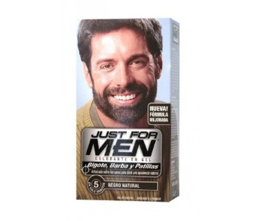 JUST FOR MEN BIGOTE Y BARBA NEGRO M-55