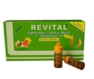 REVITAL 20 AMPOLLAS