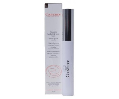 AVENE COUVRANCE MASCARA MARRON DE PESTAÑAS ALTA TOLERANCIA 7 ML.