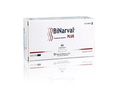 BINARVAL PLUS 60 CAPSULAS NARVAL PHARMA