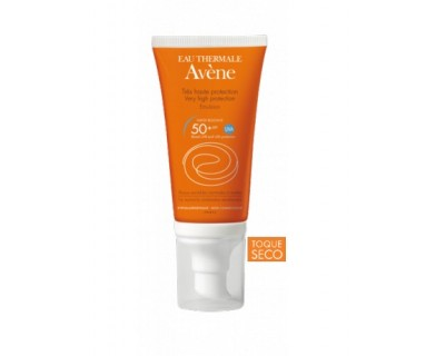 AVENE EMULSION SIN PERFUME 50+ 50 ML TOQUE SECO