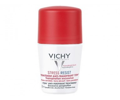 VICHY STRESS RESIST TRATAMIENTO INTENSIVO ANTITRANSPIRANTE 72 H ROLL ON 50 ML