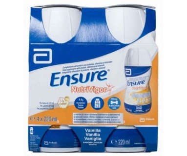 ENSURE NUTRIVIGOR VAINILLA 4x220 ML