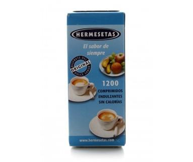 HERMESETAS ORIGINAL SACARINA (1200 COMP)