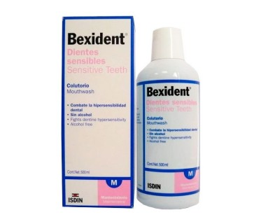 BEXIDENT DIENTES SENSIBLES COLUTORIO 500 ML