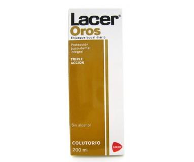 LACER OROS FLUOR COLUTORIO 200