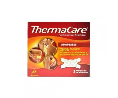 THERMACARE PARCHES ADAPTABLES TÉRMICOS 3 UND