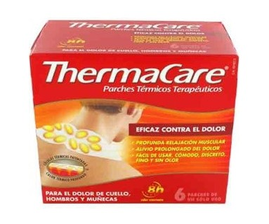 THERMACARE CUELLO 6 PARCHES TERMICOS