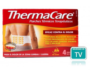 THERMACARE LUMBAR Y CADERA 4 PARCHES TERMICOS