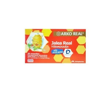 JALEA REAL VITAMINADA 1000 MG 20 AMPOLLAS