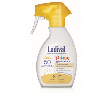 LADIVAL NIÑOS SPRAY FPS 50 ALTA 200 ML