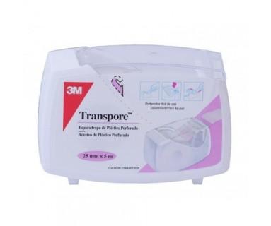 ESPARADRAPO HIPOALERGICO TRANSPORE 5X2.5