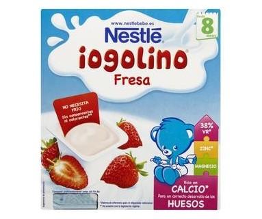 NESTLE POSTRE LACTEO FRESA 4X100