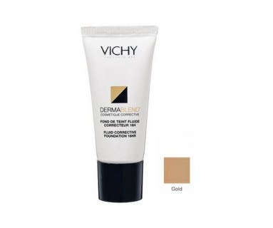 DERMABLEND FLUIDO CORRECTOR 16 HORAS Nº 45 GOLD VICHY